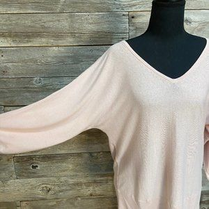 🌟🌸Talbots Batwing Pink Lightweight Sweater🌸🌟